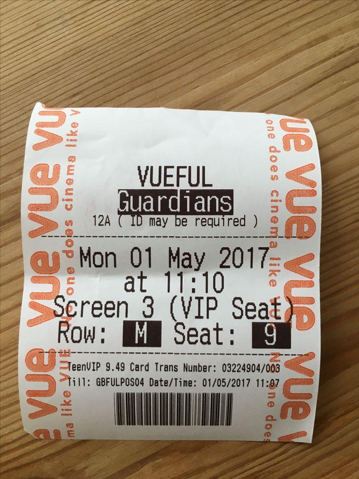 Movie Ticket Primary Image