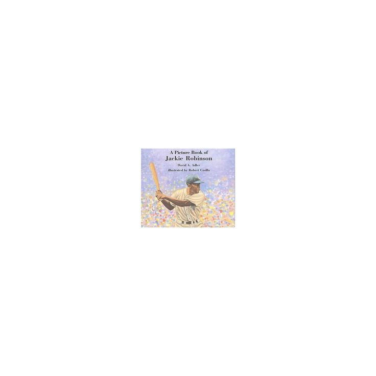 Picture Book of Jackie Robinson (Reprint) (Paperback) (David A. Adler)