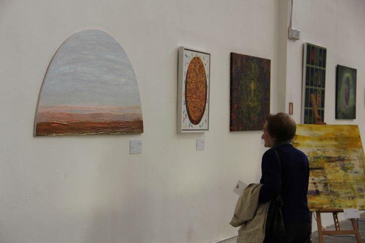 La mostra Salute Felicità è stata curata da Francesca Bianucci, presidente dell'associazione Omeoart Boiron