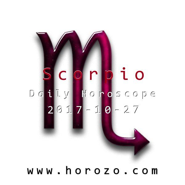 Scorpio Daily horoscope for 2017-10-27: You love change, but you generally prefer erosion to earthquakes. Still, today brings a radical change that you think is perfectly timed: so embrace it and let others know it's positive.. #dailyhoroscopes, #dailyhoroscope, #horoscope, #astrology, #dailyhoroscopescorpio