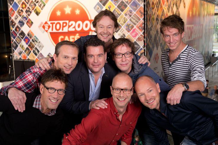 Het top 2000 team voor de editie 2014