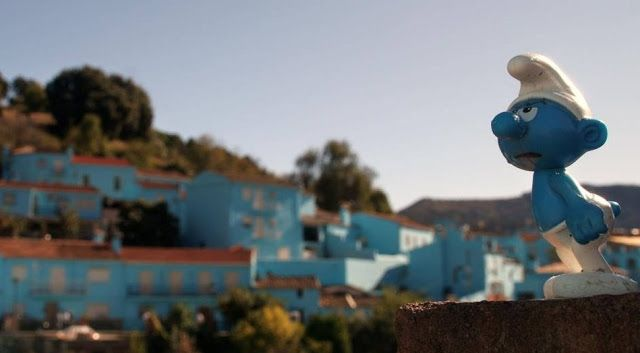 The Smurf Village,Juzcar, Malaga, Spain #TheSmurfVillage #Juzcar #Malaga #Spain