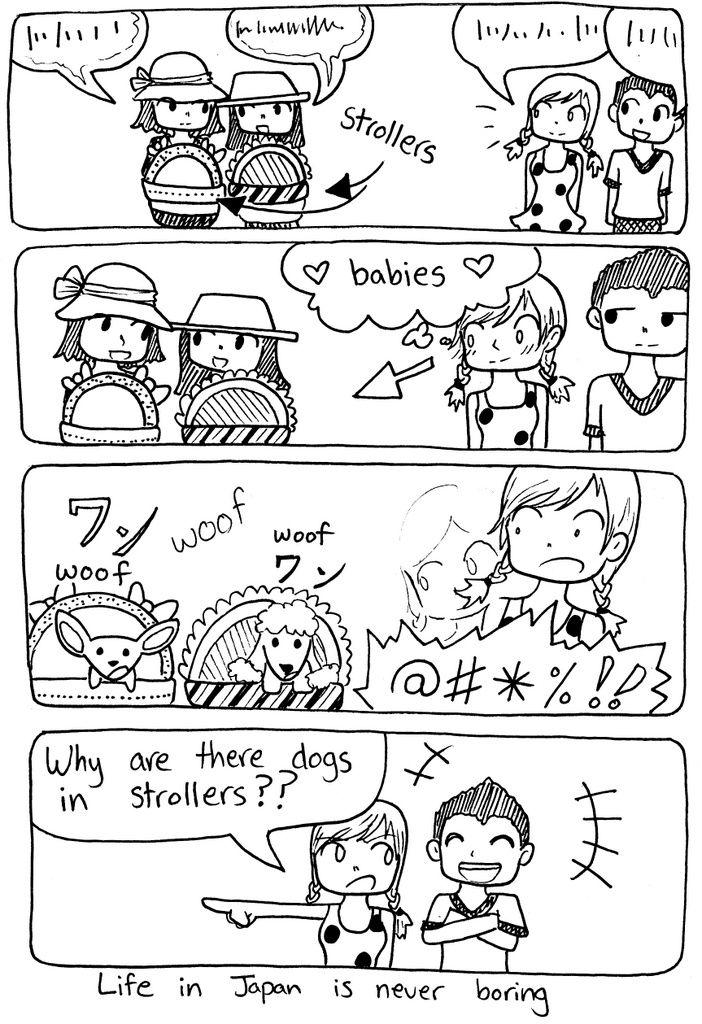 YB_3_02 comic comics life in japan texan in tokyo cartoon