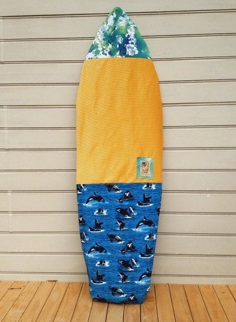 Custom made surfboard bag / surfboard cover by GonzoLizard on Etsy