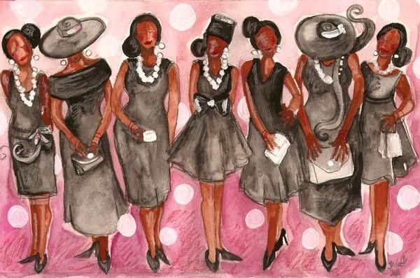 clip art church ladies - photo #15