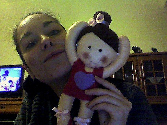 ballerina felt doll!!!