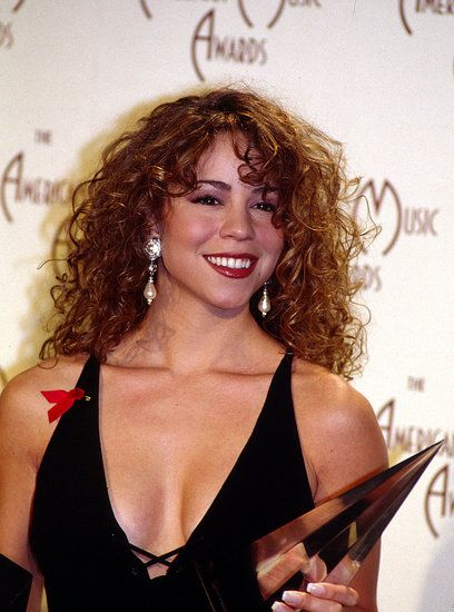 A Musical Blast From the Past: Look Back at the AMAs! | Mariah carey music, Mariah carey, Mariah carey 1990