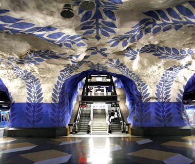 Stockholm: T-Centralen Station    ph:Martin Thomas