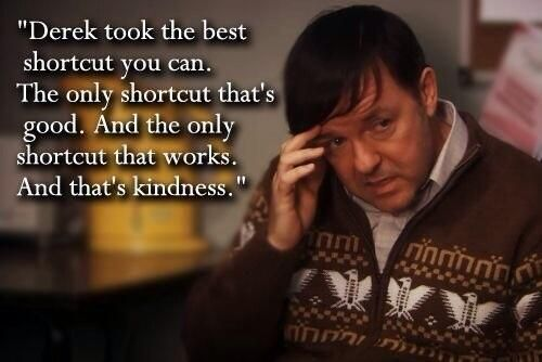 Ricky Gervais is the master.