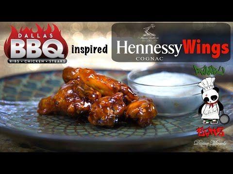 Bambu Eatz: Dallas BBQ inspired Hennessy Wings | Episode 1 - YouTube