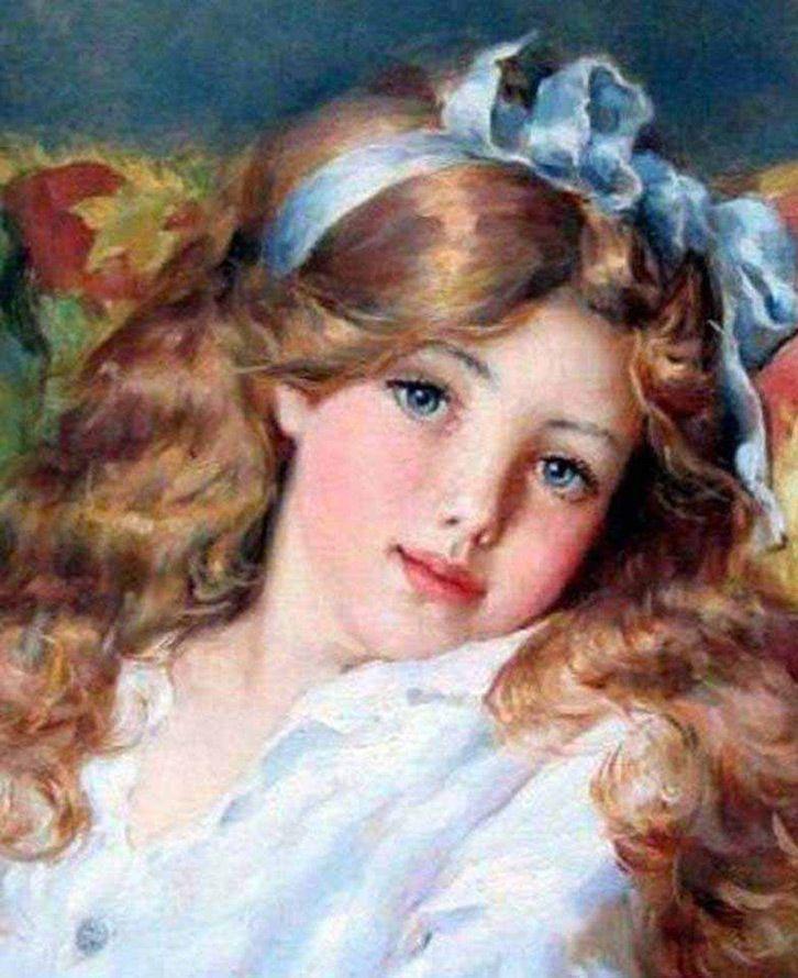 Русские принцессы – картины художника Владислава Нагорнова