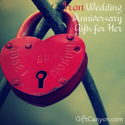 Iron Wedding Anniversary Gift: Traditional 6th Wedding Anniversary Gifts For Her: Iron
