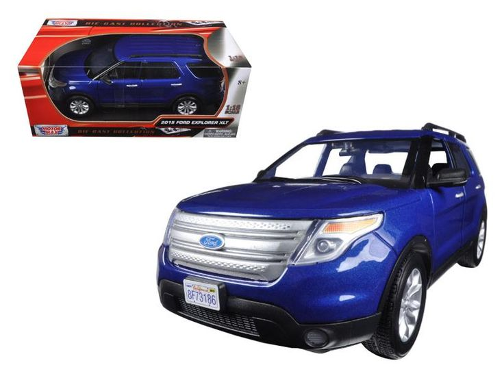 2015 Ford Explorer XLT 1:18 Diecast Model Car by Motormax