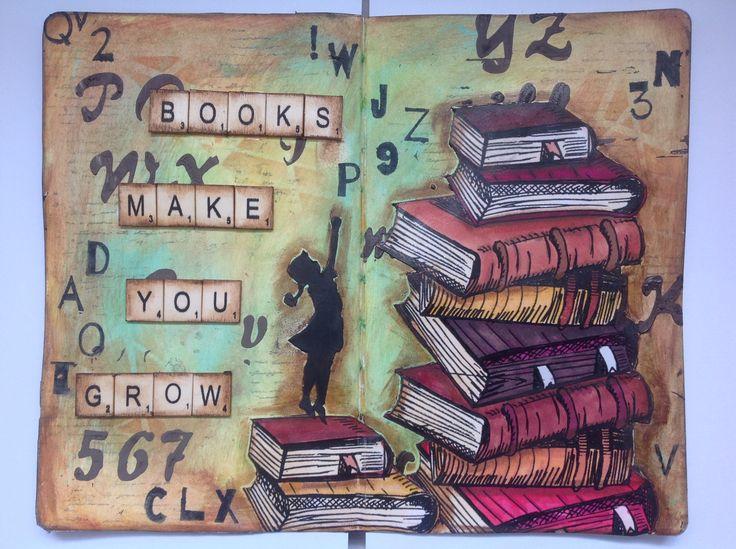 Books make you grow
