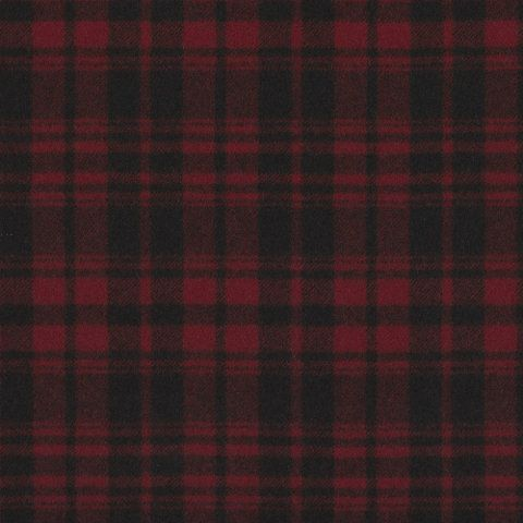 Otter Creek Plaid – Crimson - Indian Cove Lodge - Fabric - Products - Ralph Lauren Home - RalphLaurenHome.com