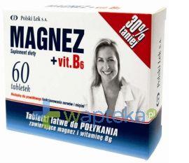 Super sprawa dla wszystkich zestresowanych i zmęczonych! Magnez wzmacnia pracę układu nerwowego, zapobiega skurczom i osłabieniu mięśni oraz ułatwia koncentrację i zapamiętywanie. Witamina B6 zmniejsza uczucie zmęczenia i znużenia organizmu.  Więcej dowiecie się tutaj:  http://www.wapteka.pl/produkt_magnez-vitamina-b6-60-tabletek-polski-lek_5215.html  #wapteka #magnez #zdrowie