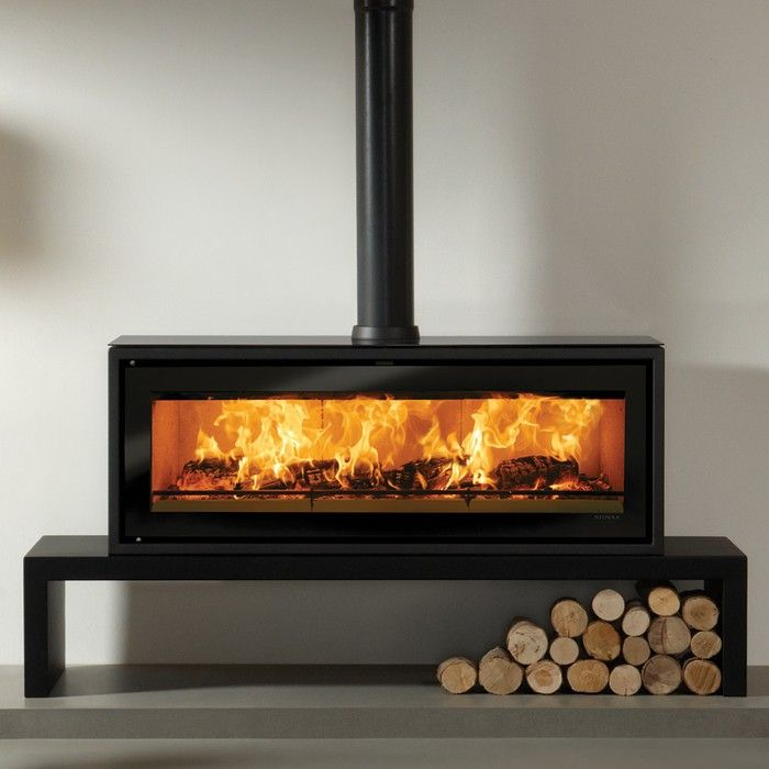 Stovax Riva Studio 3 Freestanding Wood Burning Stove - Contemporary Stoves - All Stoves - Stoves Are Us
