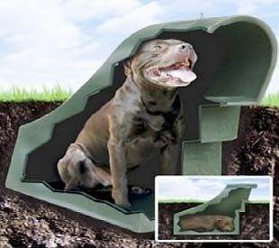 underground dog houses advantages and disadvantages how to diy - Simple Underground House Plans