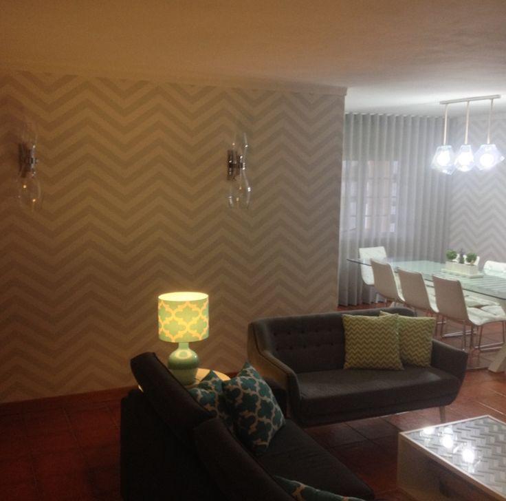 Decoração Integral – Sala de estar + Sala de jantar   Silvia Home Decor