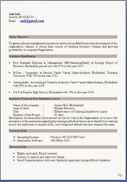 resume templates Resume Resume format, Resume format download