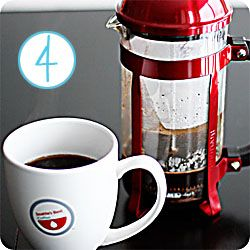 Making French Press Coffee