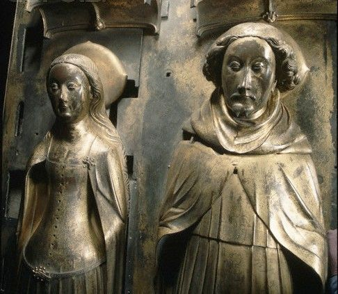 Richard II, King of England 1367 – 1400. Originally buried at the Friary of…