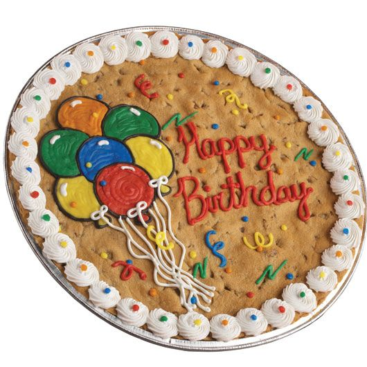 Have a cookie cake instead of a traditional birthday cake this year. Kids Love them!