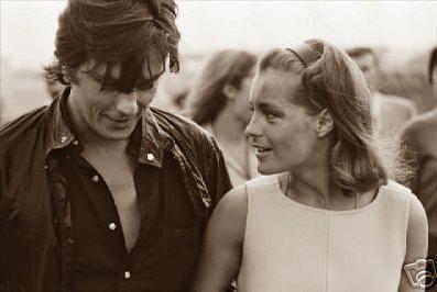 Alain Delon and Romy Schneider - alain-delon Photo