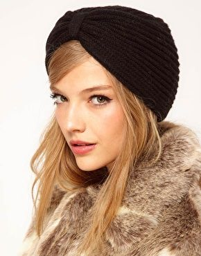 Enlarge ASOS Knitted Turban Hat