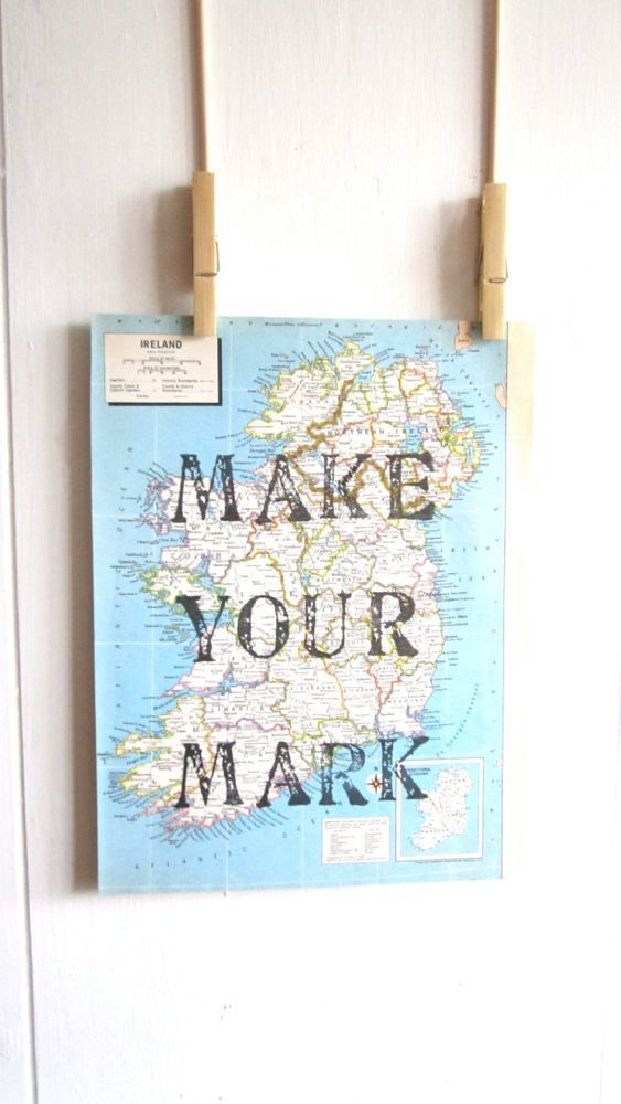 Hey, I found this really awesome Etsy listing at https://www.etsy.com/listing/173573178/make-your-mark-inspiration-map-print