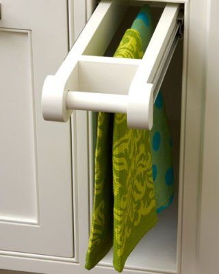 just a pull out towel bar