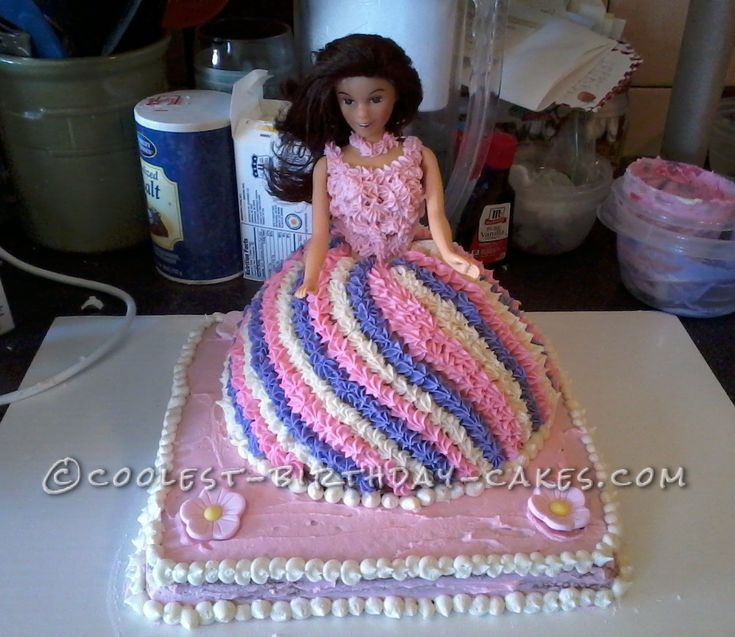 50 best cakes images on Pinterest Barbie doll Barbie cake and