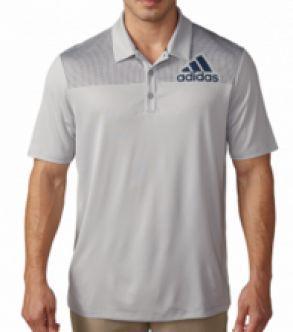 Polo de golf Adidas Badge of Sport Dot Print.  Polo de golf Adidas fabricado con  100% Polyester.