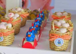 Resultado de imagen para dulceros reciclados para gallinita pintada