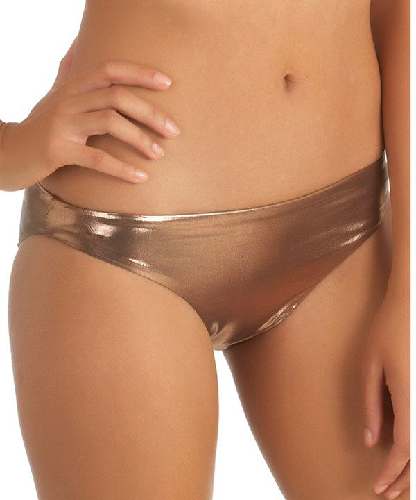 Look at this Rose Gold Bikini Bottoms on #zulily today!