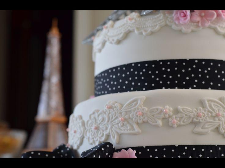 Paris theme engagement party