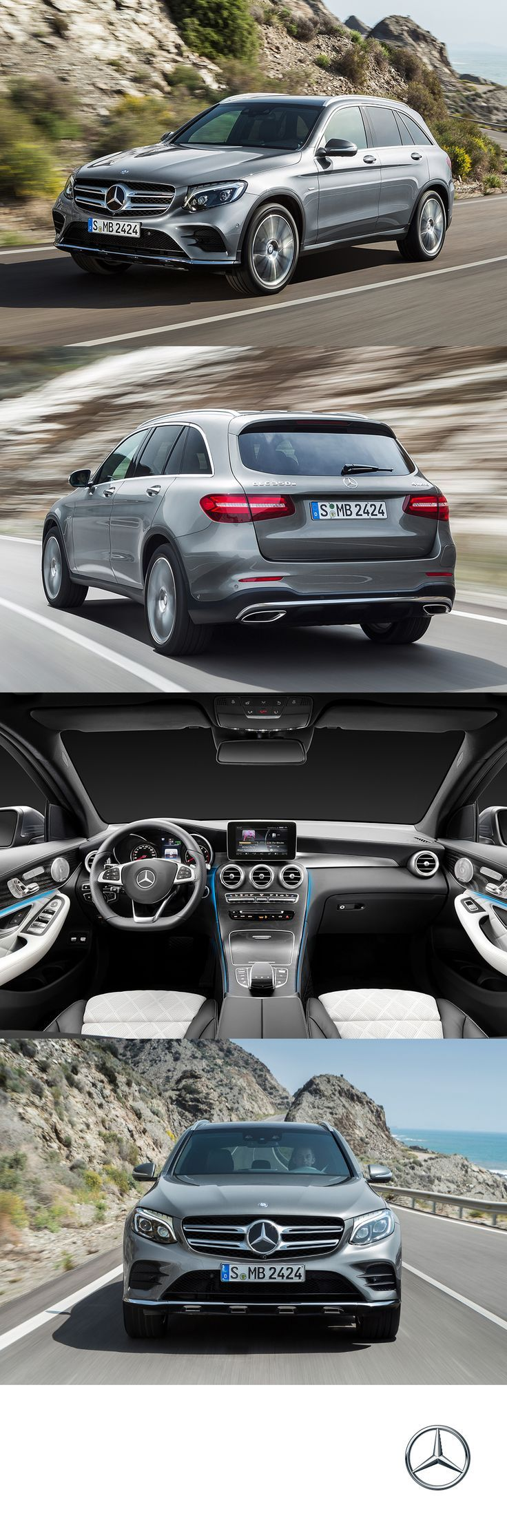 Mercedes benz all new glc makes its mark with peerless technology outstanding energy efficiency and a sensual design and with direct injection biturbo