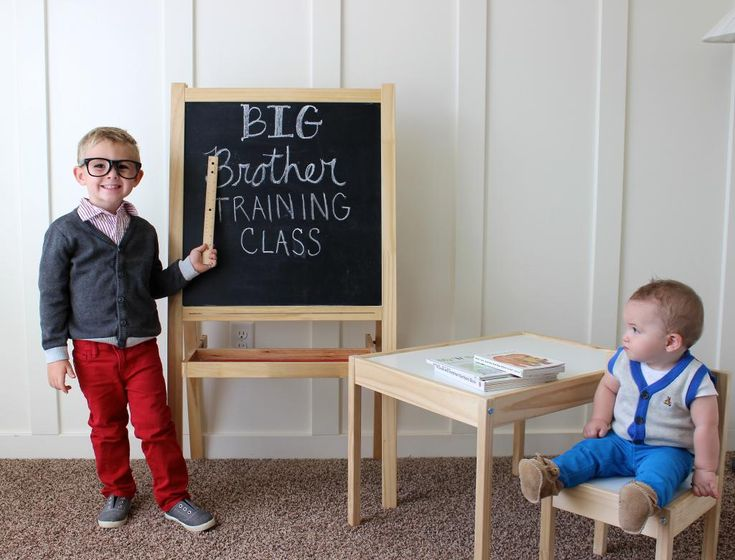 Pregnancy announcement Big Brother Training Class – Big Brother Birth Announcement Ideas