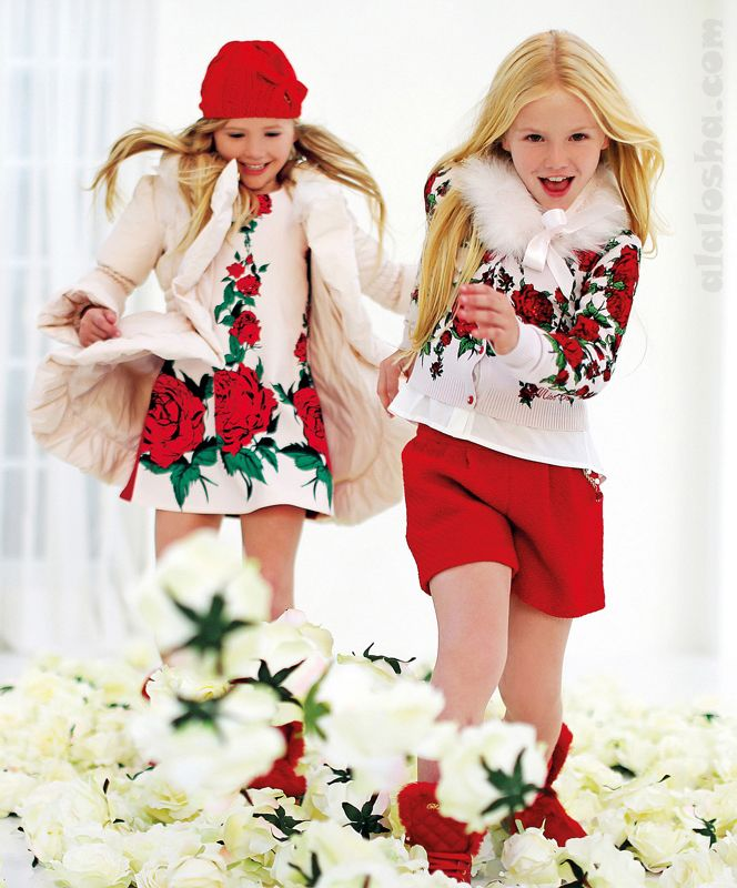 ALALOSHA: VOGUE ENFANTS: MISS BLUMARINE FW'14