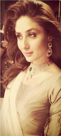 Kareena Kapoor's photoshoot for Jewellery Ad.