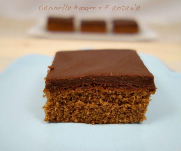 Brownie al triplo cioccolato