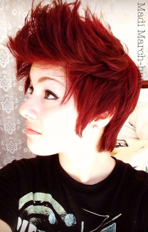 scene pixie haircuts | scene pixie cut | Tumblr … | Short ...