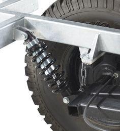 off road trailer suspension - Google Search