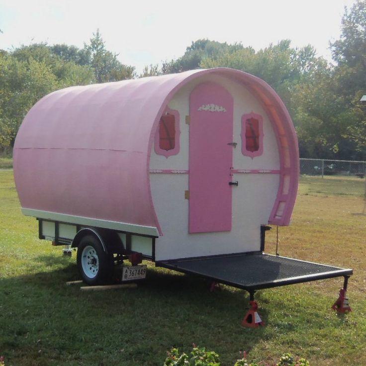 Custom Gypsy Wagon Vardo Tiny House on Wheels Titled as Travel Trailer - Tiny House Listings