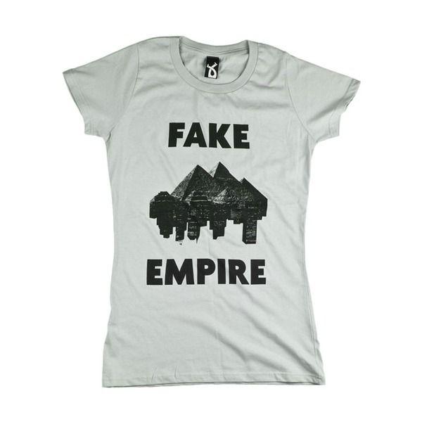 Plain And Black T-Shirt Fake Empire