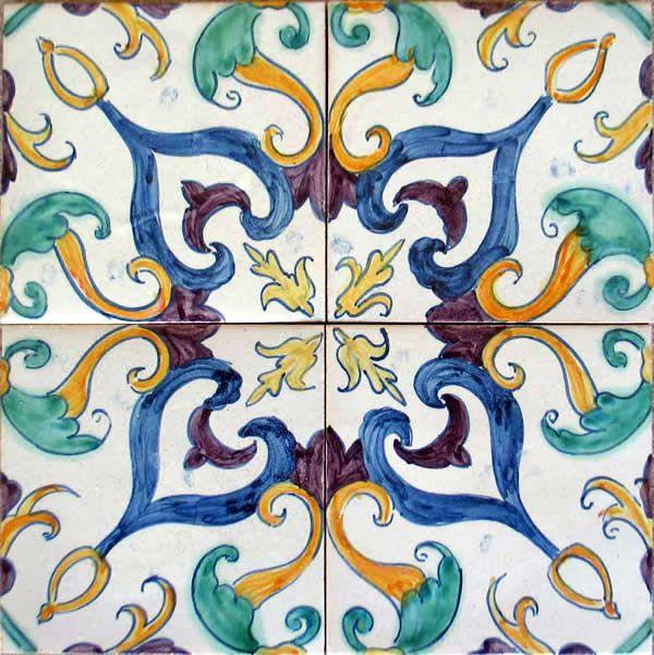 Azulejos de Azeitao - Bacalhoa Palace  Portuguese Tiles, azulejos