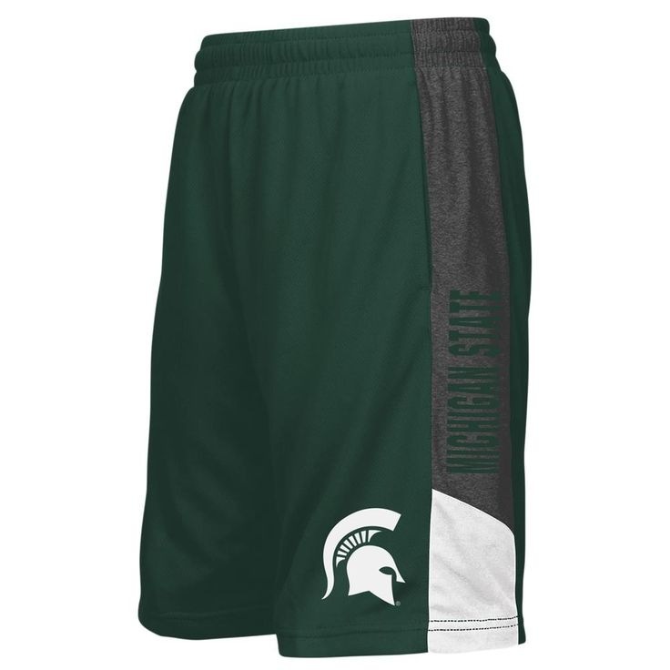 Michigan State University Youth Shorts Athletic Basketball Short