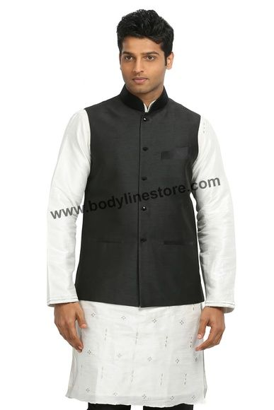 The Nehru jacket has been largely accepted by the younger demographic of Indian males who are pairing this jacket up with casual mandarin collared shirts/round neck tees and denims/chinos.
