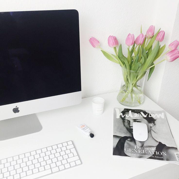 Apple schreibtisch bauen  Die 25+ besten Imac Schreibtisch Ideen auf Pinterest | Gemeinsame ...