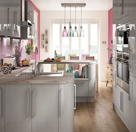 Wickes Glencoe Pewter Kitchen. Kitchen-compare.com - Home - Independent Kitchen Price Comparisons